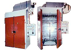Gas Heated Curing Oven